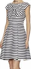 $448 NWT Kate Spade New York Mariella Bow Stripe Striped Dress Size 12