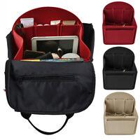 Backpack Organizer Insert Bag Multi Pocket Handbag Felt Women Makeup Bag Case