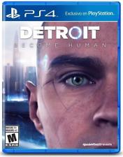 Detroit tornar-se humano PS4 Sony PlayStation 4 (, 2018) Novo em folha-Região Livre