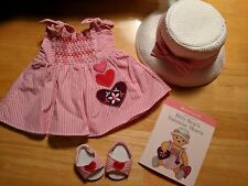 American Girl Bitty Baby Little Hearts Outfit NIB
