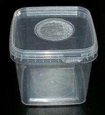 Insect Box 1,2L Zuchtbehälter Heimchendosen mit Gaze Deckel Futtertierzucht