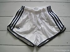 NOS OG 1980s Shiny ADIDAS SPRINTER NYLON SHORTS XS-S Beach Runner Racer Gay Vtg