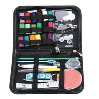 Travel Sewing Kit Portable Case Home Emergency Accessory Tool Office LC