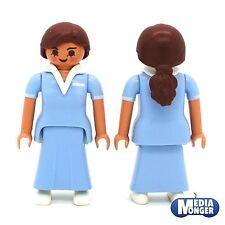 playmobil Figur: Donna Lehrerin Maestra d'asilo Erzieherin abbronzato in Roccia