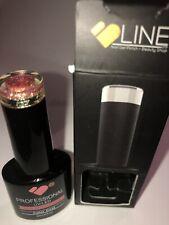 Line - nail gel polish professional UV/LED - NO WIPE TOP! PINK ROSE GOLD