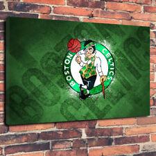 "Boston irlandés equipo de baloncesto Impreso Cuadro Lienzo A1.30""x20"" 30 mm Marco Profundo"