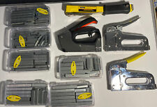Large Lot Of Staple guns And Staples