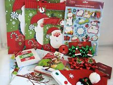 XMAS Combo! Bags/Cards/Ribbon/Hat/Bows/Tags Superfast Dispatch & Shipping!!
