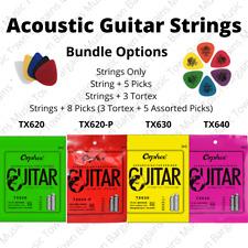 Acoustic Guitar Strings 10s 11s 12s Gauges Phosphor Bronze Strings Copper Picks