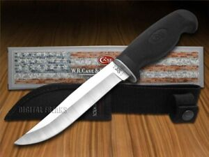 """Case xx Fixed Blade 5"""" Hunter Knife Lightweight Black Synthetic 00592"""