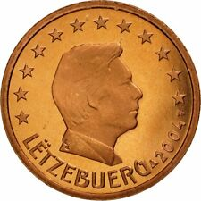 [#461836] Luxemburg, 5 Euro Cent, 2004, FDC, Copper Plated Steel, KM:77