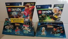 Lego Dimensions Back to the Future Level pack 71201 & Fun Pack 71230  Brand New