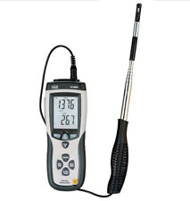 Hot Wire Thermo-Anemometer Air Flow Velocity Meter Temperature Tester DT-8880