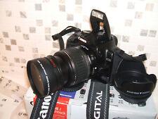 Canon EOS 400D /  10.1 MP Digital SLR Camera - Black WITH THREE LENSES
