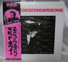 SEND US YOUR RECORD WISHLISTS! David Bowie Station to Station LP w Obi JAPAN