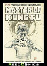 SHANG-CHI MASTER OF KUNG FU OMNIBUS VOLUME 4 HARDCOVER (784 Pages) New Hardback