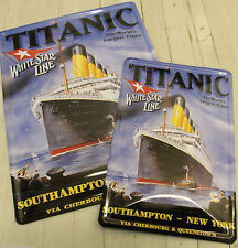 Titanic Nautical Transportation Collectable Signs