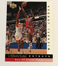 1992-93 UPPER DECK Jerry West Selects MICHAEL JORDAN 11 X 8 Jumbo Big Card  #JW8