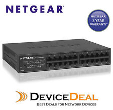 Netgear GS324 24 Port Gigabit Unmanaged wall/rack-mountable Ethernet Switch