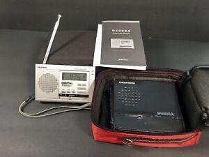 Grundig G1000A Digital Radio World Receiver - Fully Tested - W/Cases