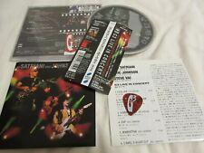 STEVE VAI, JOR SATRIANI / G3 / JAPAN LTD CD OBI guitar pick