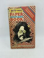 Peter Max Paper Airplane Book First Edition First Printing 1971 Pyramid Books Vg
