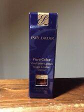 NIB Estee Lauder # 01 BURNISHED BRONZE Pure Color Vivid Shine Lipstick