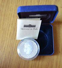 FRANCIA MONNAIE DE PARIS confezione ufficiale MONETA 100 FRANCS 1993 ARGENTO