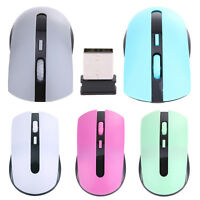 1600DPI 2.4G USB Wireless Optical Mouse Cordless Mice Receiver for PC Laptop