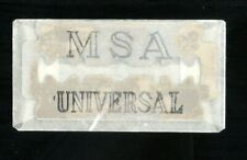 ANTIGUA FUNDA DE HOJA / CUCHILLA DE AFEITAR + CUCHILLA MSA UNIVERSAL