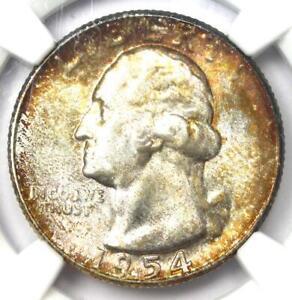 1954-S Washington Quarter 25C - Certified NGC MS67+ Plus Grade - $3500 NGC Value