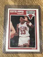 🏀🔥1989 Fleer Scottie Pippen #23-NM-Mint+**rare**Bulls Legend
