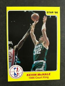 1986 Star Court Kings #22 Kevin McHale