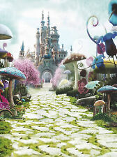 3X5FT Wonderland Castle VINYL BACKDROP Photography Studio Props Background 6695