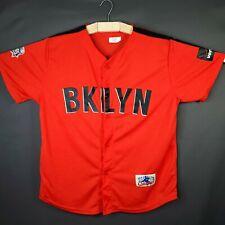 Brooklyn Cyclones Alternate Baseball Jersey - Poly Blend - Mint - Size XL