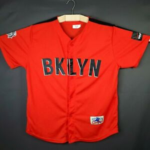 Brooklyn Cyclones Alternate Baseball Jersey - Poly Blend - Mint - Size XL