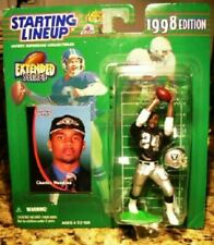 Charles Woodson Oakland Raiders 1998 NFL Extended Series Starting Lineup in Case