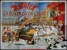 ASTERIX ET LA SURPRISE DE CESAR Affiche Cinéma GEANTE 4x3 WIDE Movie Poster