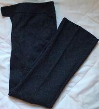 Ann Taylor Factory Signature Navy Tweed Print Pants 6 Petite