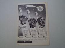 advertising Pubblicità 1959 BOLEX PAILLARD D8L/B8L/C8S C 8 S