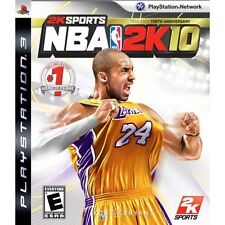 NBA 2K10 For PlayStation 3 PS3 Basketball Very Good 9E