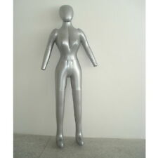 New Woman Whole Body With Arm Inflatable Mannequin Fashion Dummy Torso Model XG