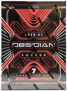 2020/21 Panini Obsidian Soccer Hobby Factory Sealed Box