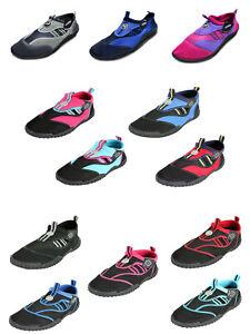 DX - KIDS CHILDS Aqua Wet Shoes wetshoes beach TBF water Children SIZE C5 -  UK4