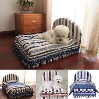Soft Warm Dog Cat Bed Mat Luxury Sofa Pet Sleeping Cushion Kennel Pillow Blanket