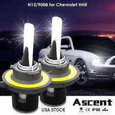 Front H13 9008 Car Cree LED Headlight Kit Power Bulb Beam For Chevrolet HHR 2007