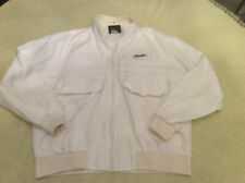 Bayliner Boats Sz XL Cotton Bomber Style Jacket Full Zip White By Tonkin