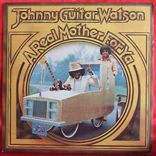 Johnny Guitar Watson A Real Mother For Ya LP 1st Press Disco Funk R&B Soul 1977