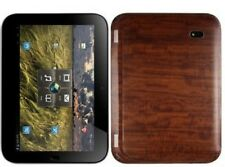 Skinomi Tablet Skin Dark Wood Cover+Clear Screen Protector for Lenovo IdeaPad K1