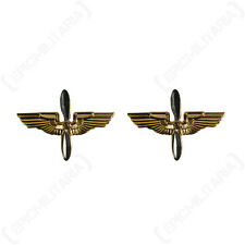 WW2 US Army Armée de l'air Col Officier Insignes Repro Américain Badge Ailes